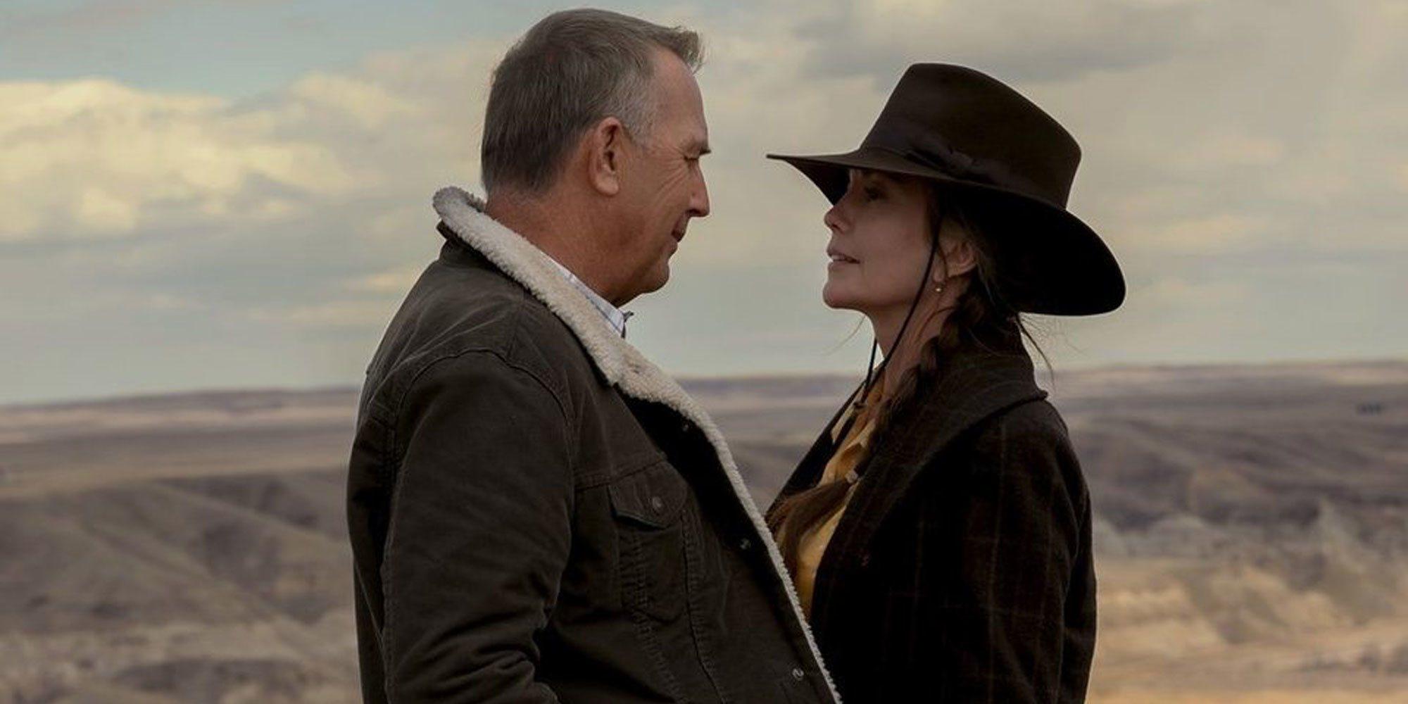 La romántica escena de Kevin Costner y Diane Lane en este clip exclusivo de 'Uno de nosotros'