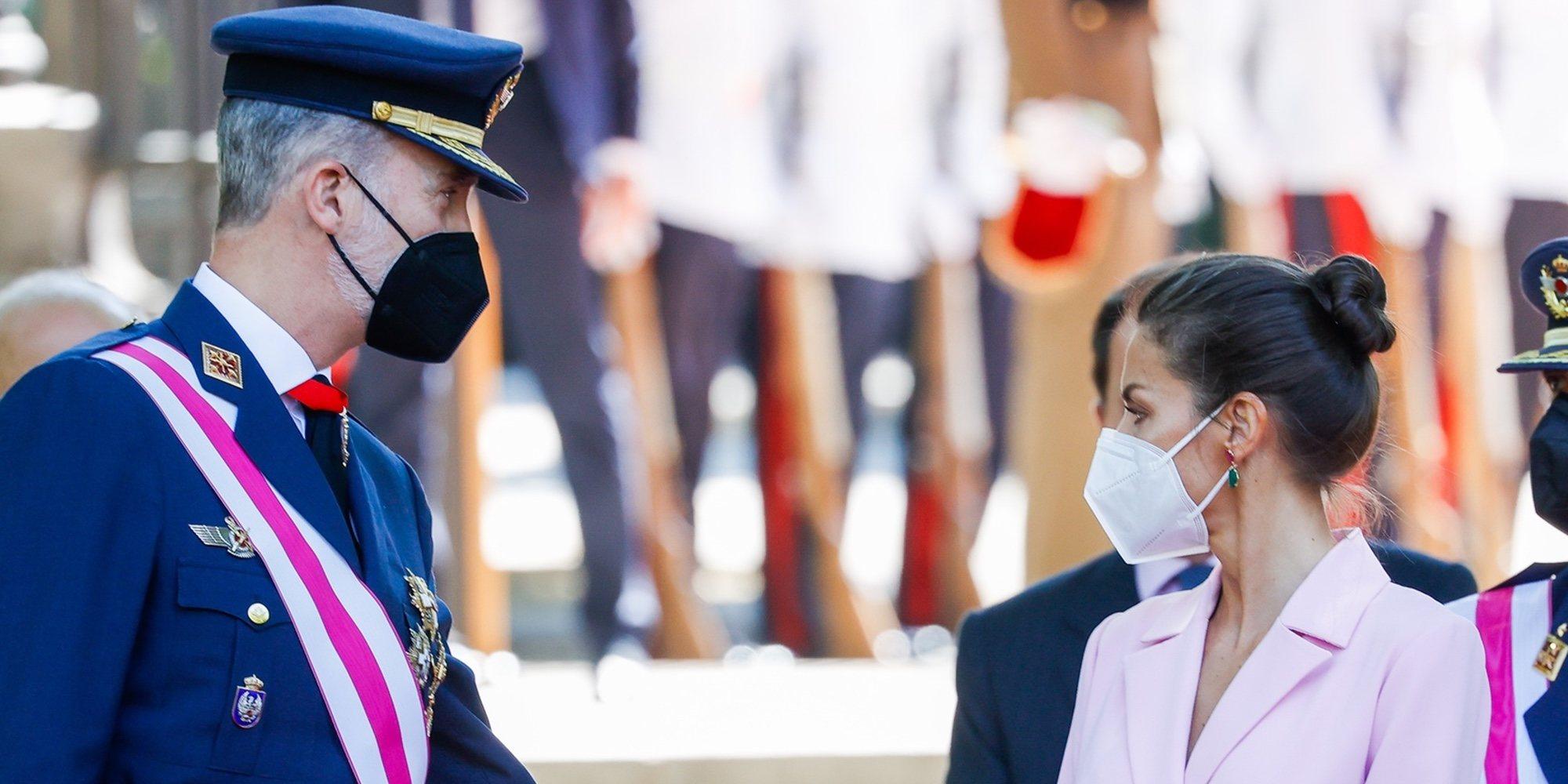Los Reyes Felipe y Letizia celebran en Madrid el Día de las Fuerzas Armadas marcado por la sencillez