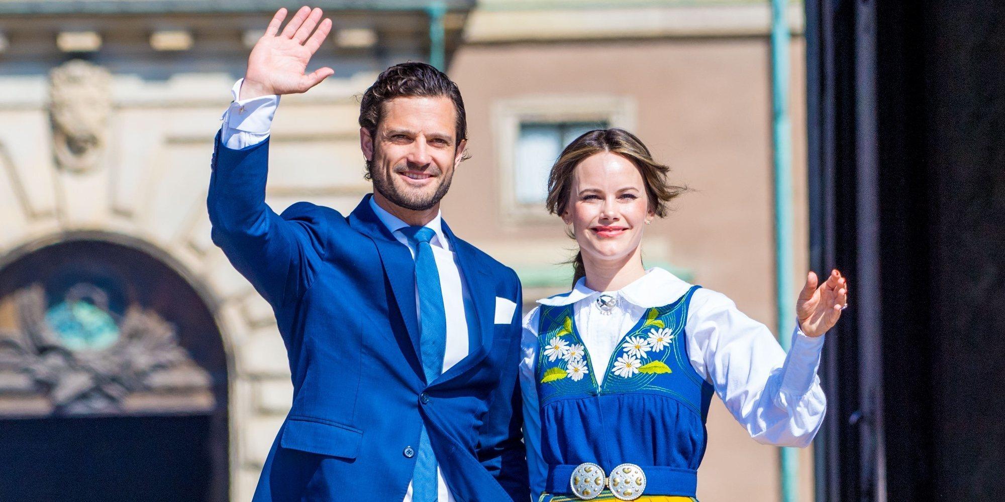 Carlos Felipe y Sofia de Suecia, apartados de los actos por el Día Nacional de Suecia 2021