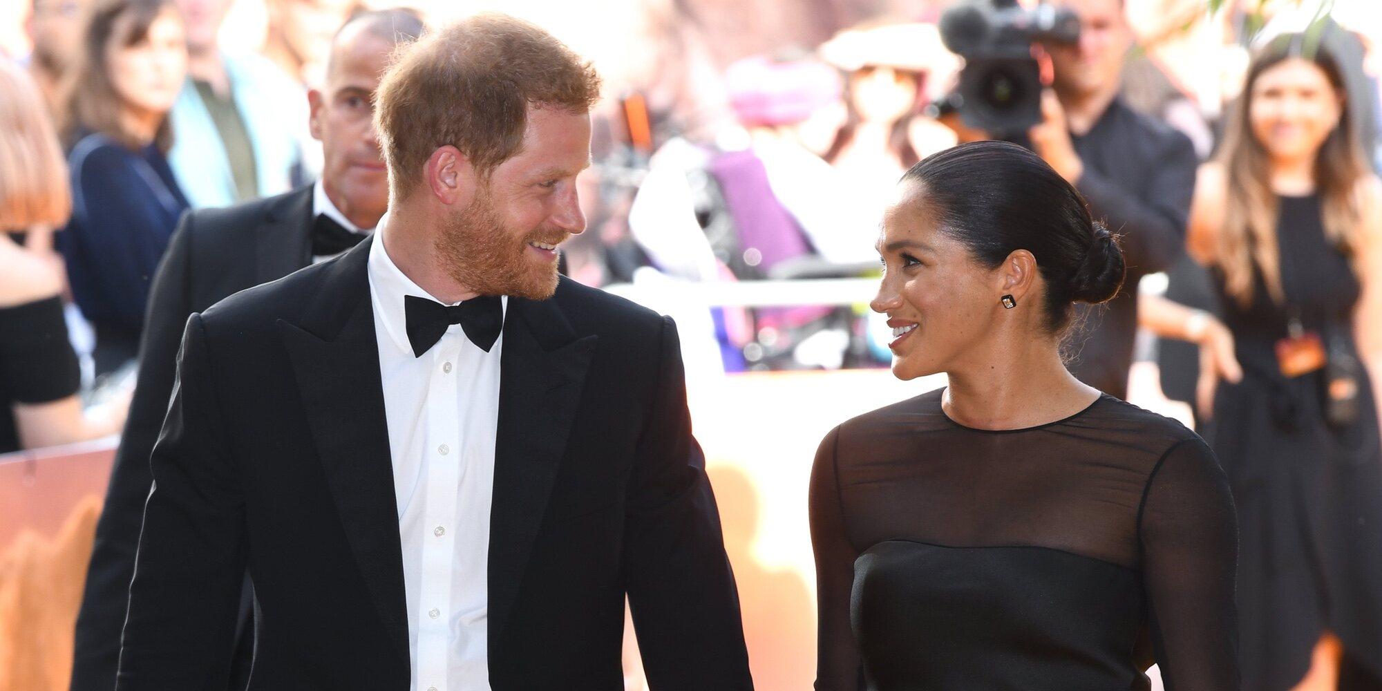 El Príncipe Harry y Meghan Markle se convierten en padres de su hija Lilibet Diana