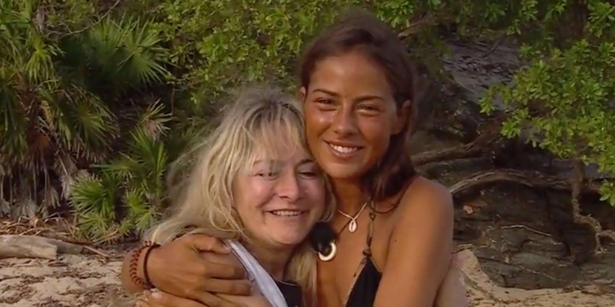 El emotivo reencuentro de Melyssa y su madre, Nela, en 'Supervivientes 2021'