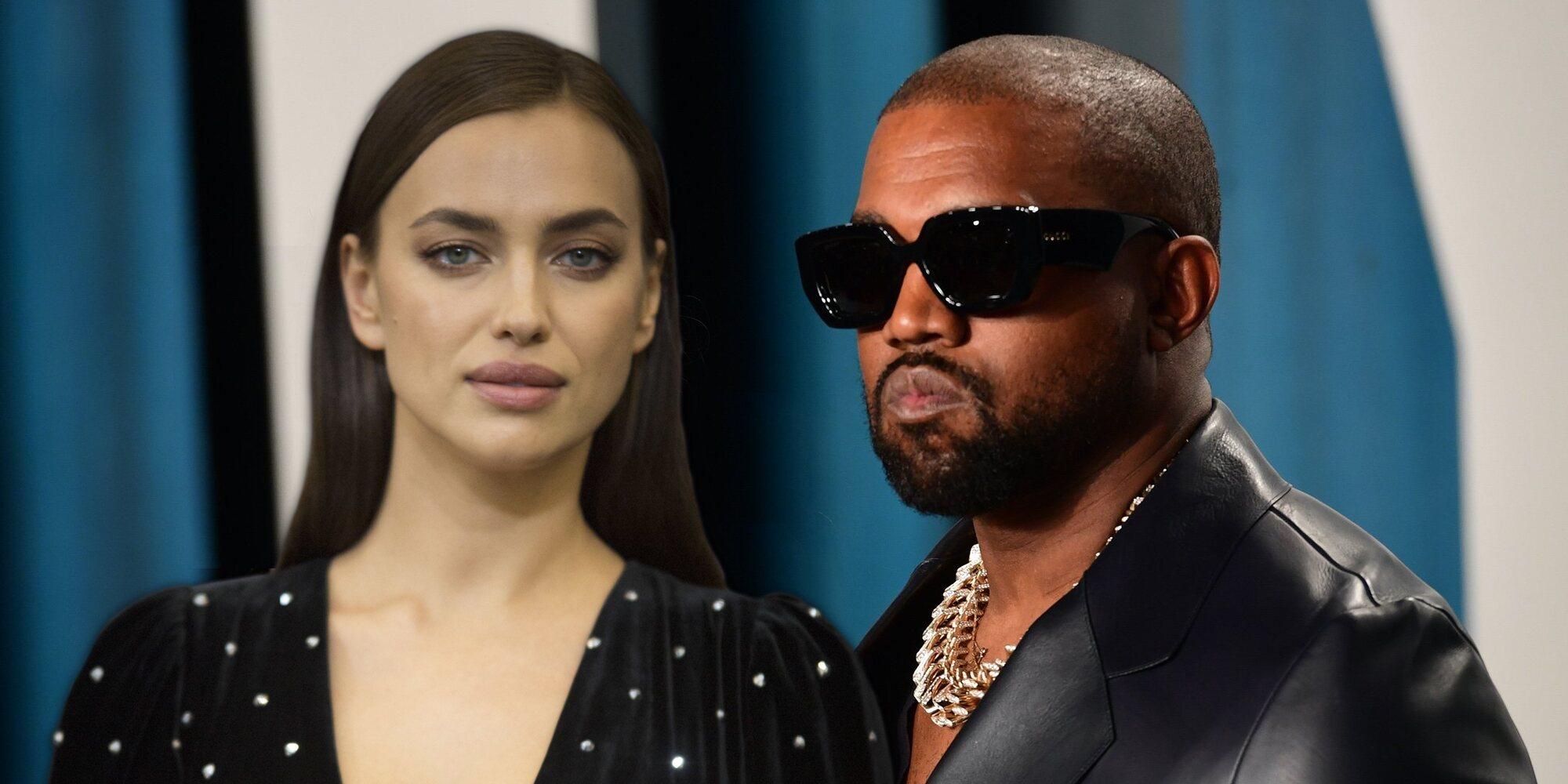 Kanye West pasa su cumpleaños junto a Irina Shayk en Francia