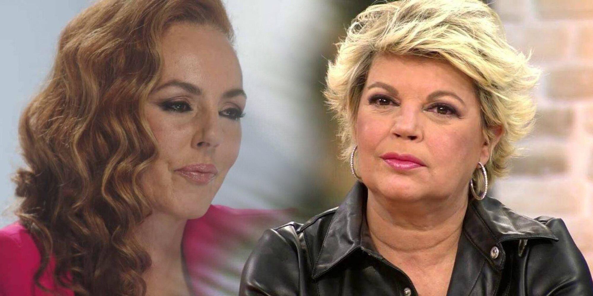 """Terelu Campos: """"Deseo con todas mis fuerzas que Rocío Carrasco cuente por qué tuvo que alejarse su familia"""""""