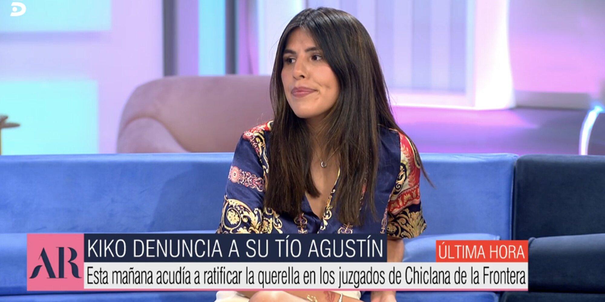"""Isa Pantoja, sobre la ratificación de la demanda de Kiko Rivera a Agustín Pantoja: """"Es la vía que ha encontrado"""""""