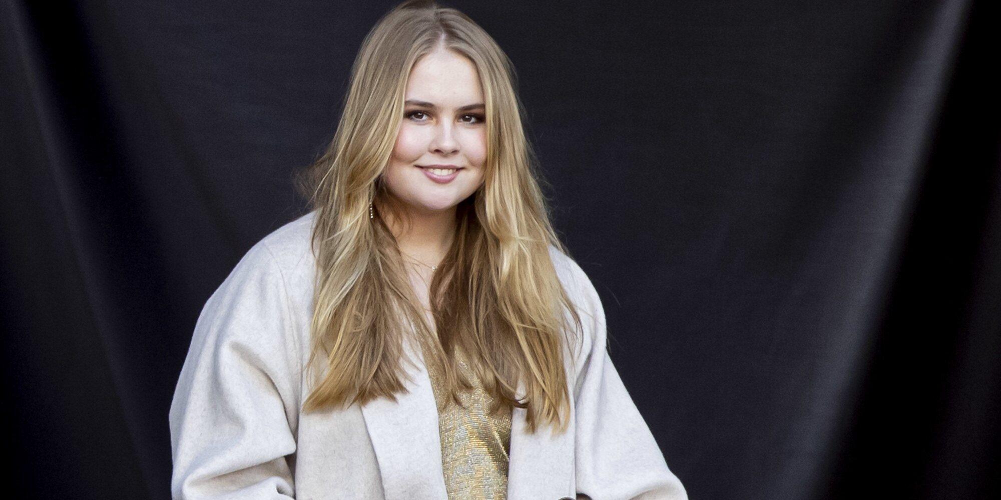 Amalia de Holanda renuncia a la asignación que le correspondería cuando cumpla 18 años