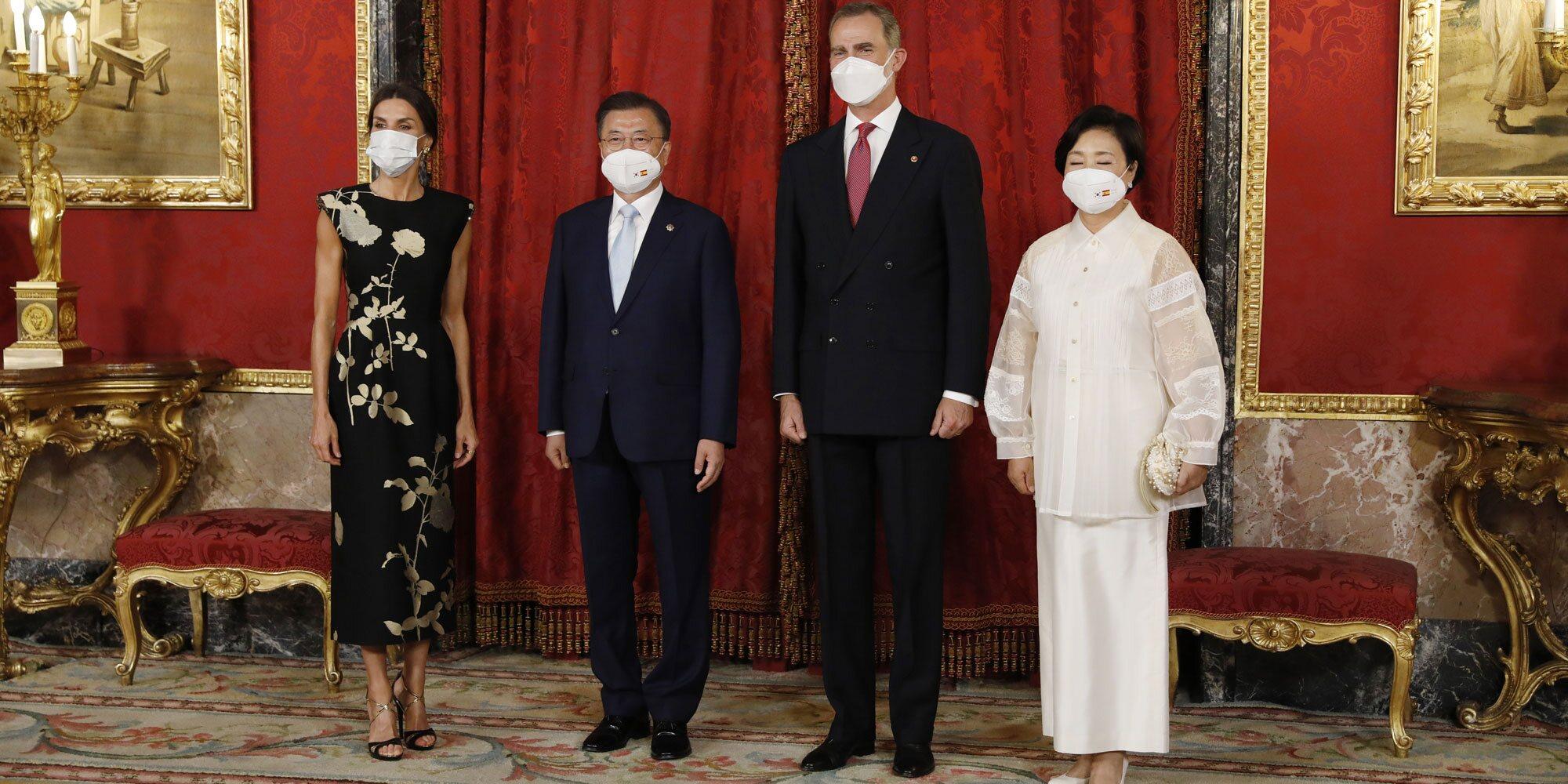 Homenajeados conocidos y cambios por la pandemia en la cena de Estado de los Reyes Felipe y Letizia al Presidente surcoreano