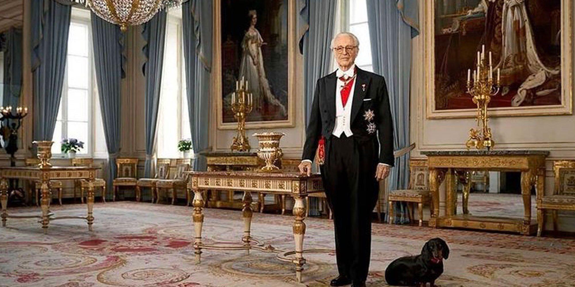 El Duque de Baviera y su novio, Thomas Greinwald, posan juntos en un retrato oficial