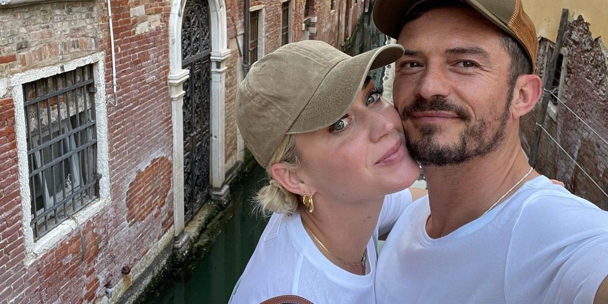 Katy Perry y Orlando Bloom comparten las fotos más románticas de su viaje a Venecia