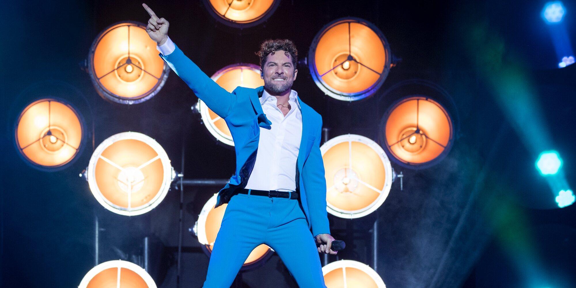 David Bisbal vuelve a los escenarios tras la pandemia: energía, pasión y ganas en su primer concierto en Madrid