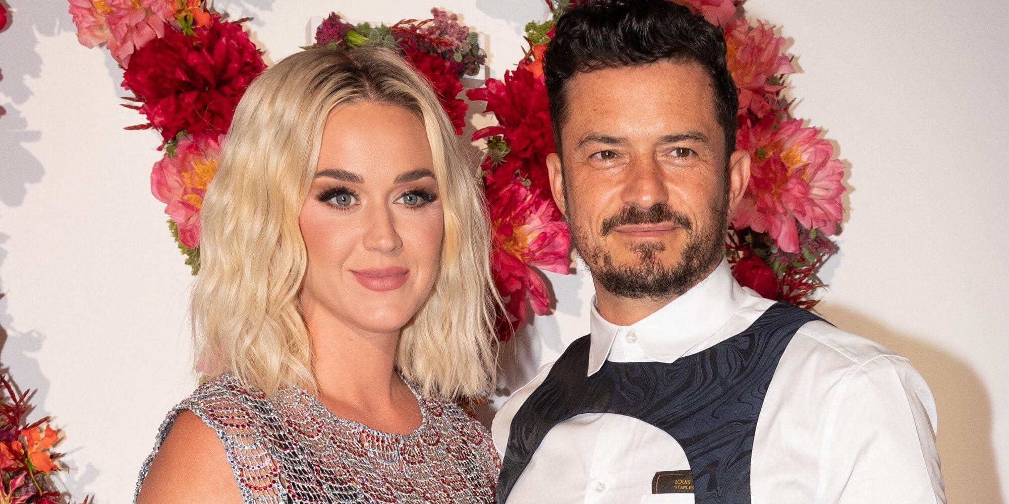 Katy Perry y Orlando Bloom, pura complicidad en la cena de la Fundación de Louis Vuitton en París