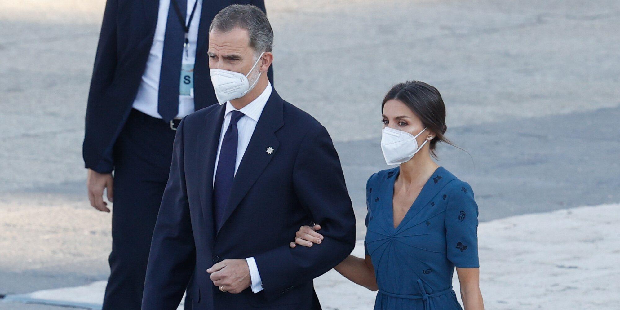 Los Reyes Felipe y Letizia presiden por segundo año consecutivo el acto homenaje por las víctimas del coronavirus