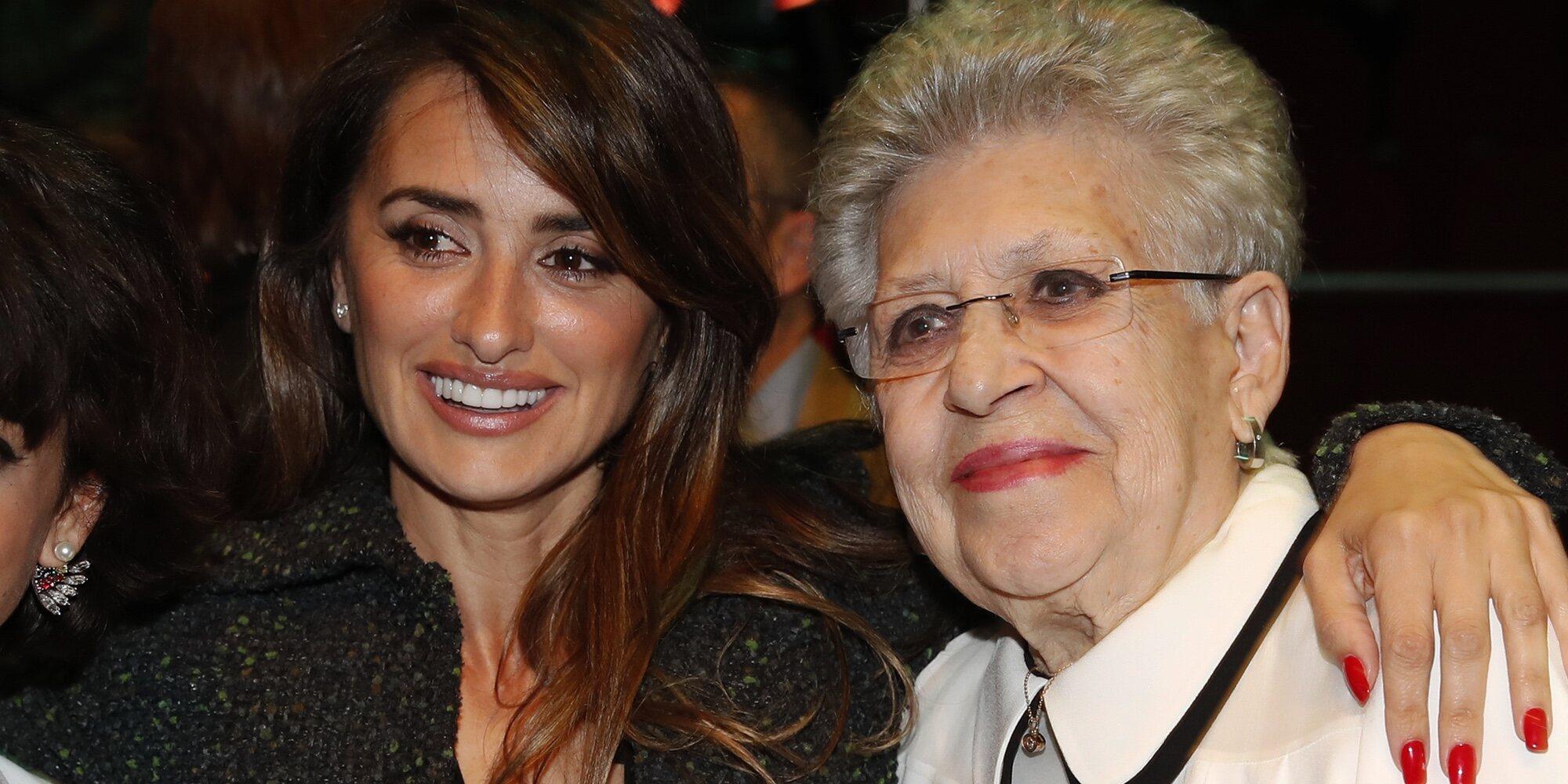 """Las emotivas palabras de Penélope Cruz a Pilar Bardem tras su muerte: """"No se puede soñar una suegra mejor"""""""