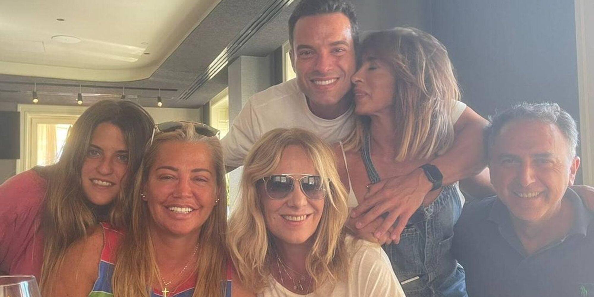 Así disfrutan María Patiño, Belén Esteban y Belén Rodríguez de un fin de semana de amigas