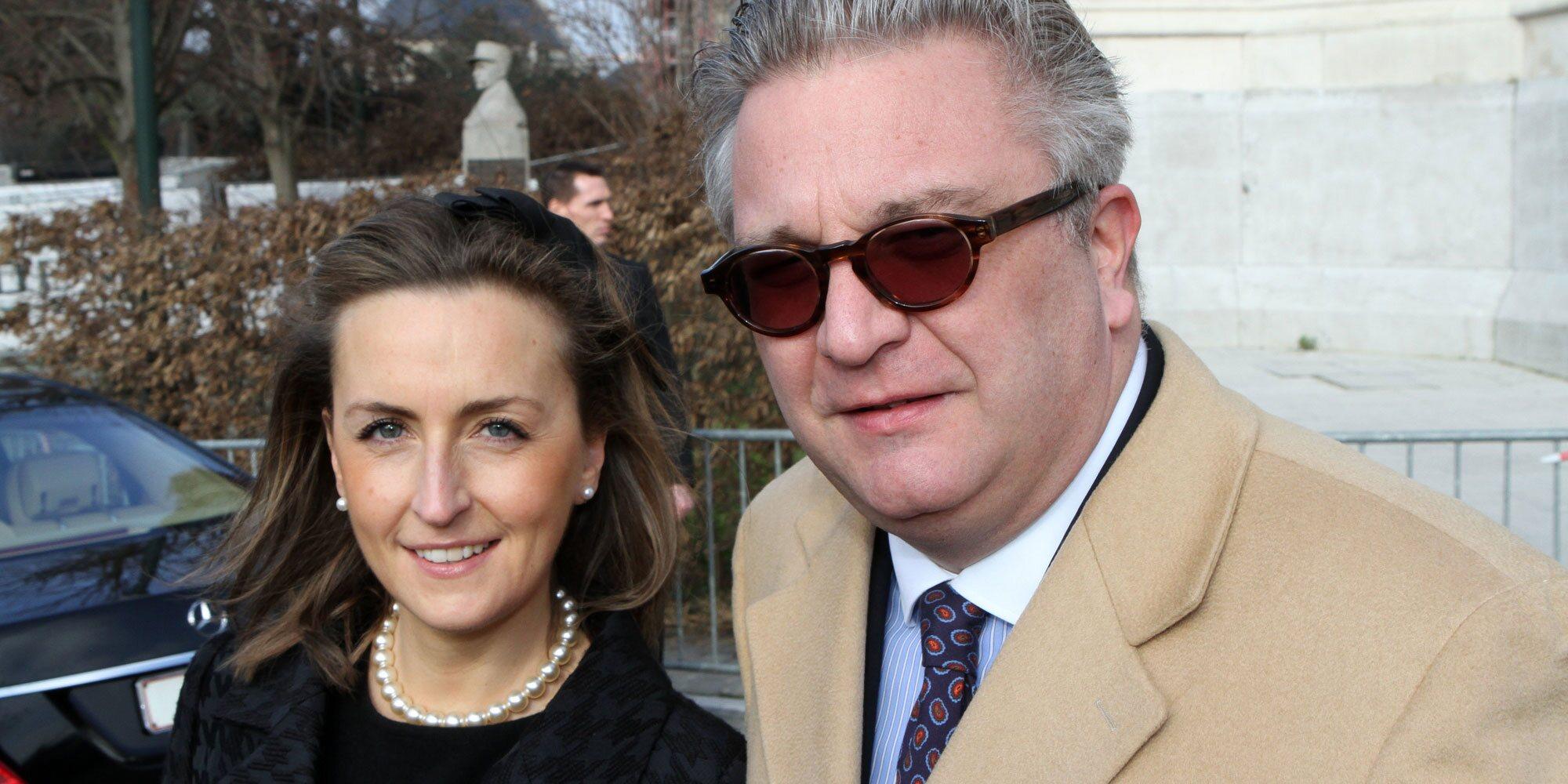 Laurent de Bélgica niega haberse separado de Claire de Bélgica