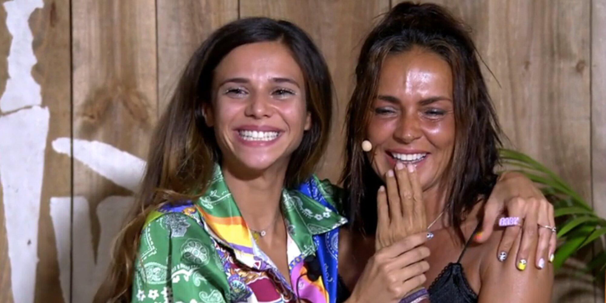 Olga Moreno recibe la visita de su hermana y sobrina en la final de 'SV 2021'