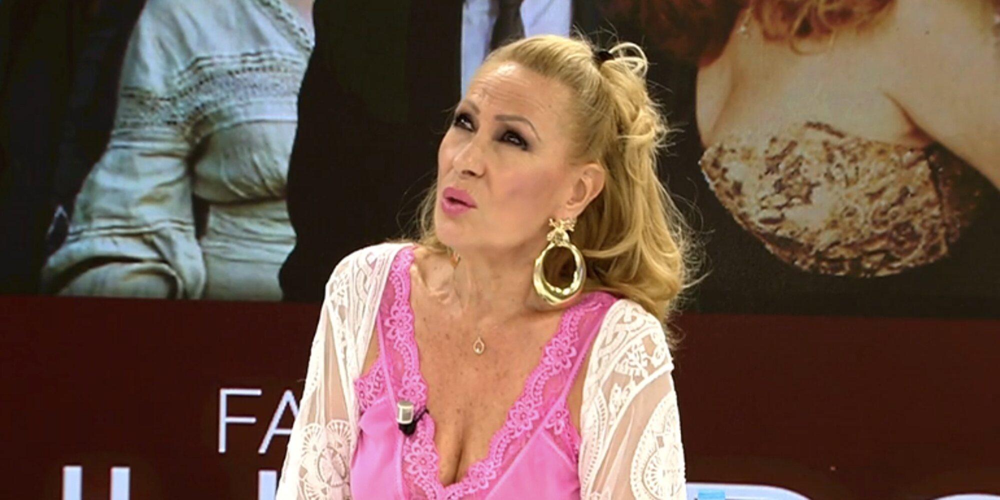 """Rosa Benito, de la intervención de Rocío Carrasco: """"Ojalá la Virgen de Regla no tire al suelo la grandeza de Rocío Jurado"""""""
