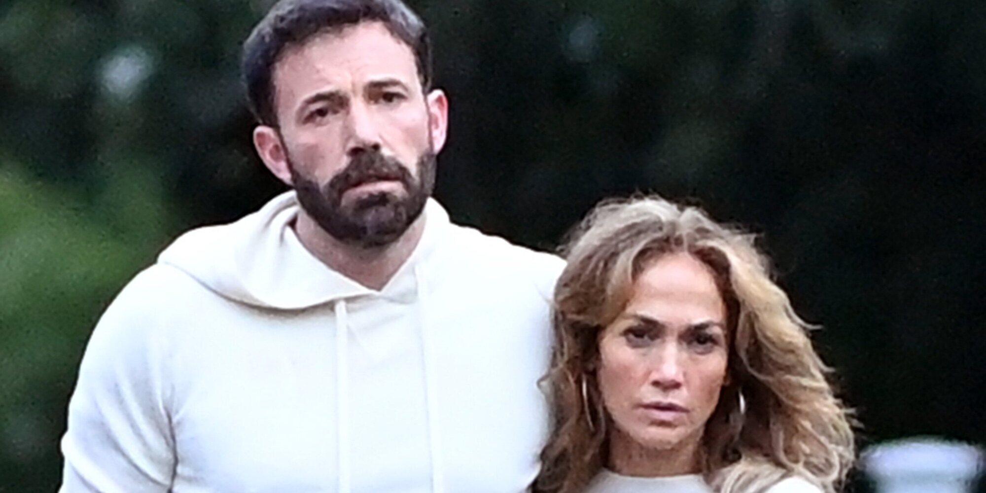 El besazo de Jennifer Lopez y Ben Affleck: pura pasión en la pareja