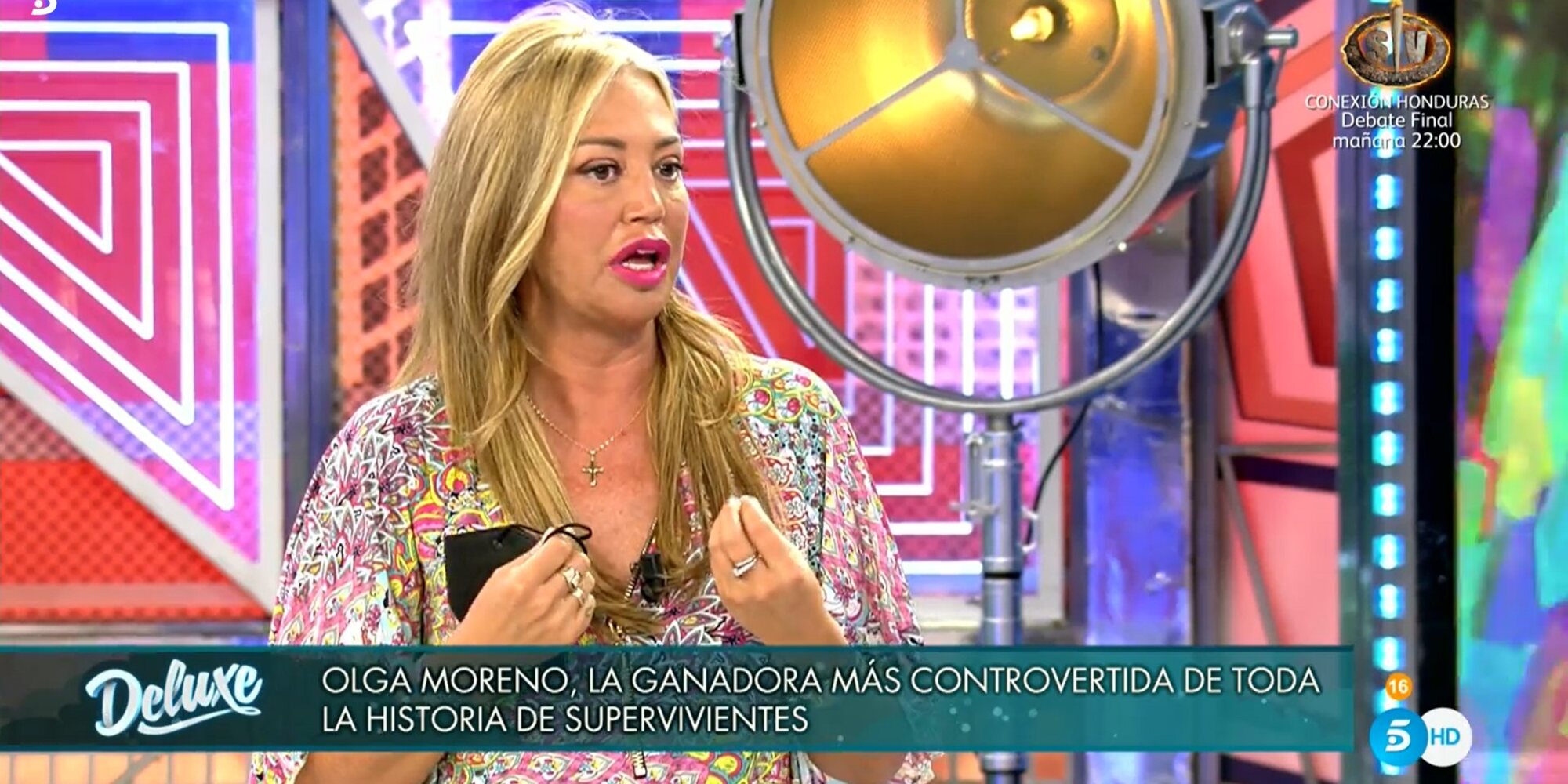 """Belén Esteban opina sobre la victoria de Olga Moreno en 'SV 2021': """"Yo no me lo esperaba"""""""