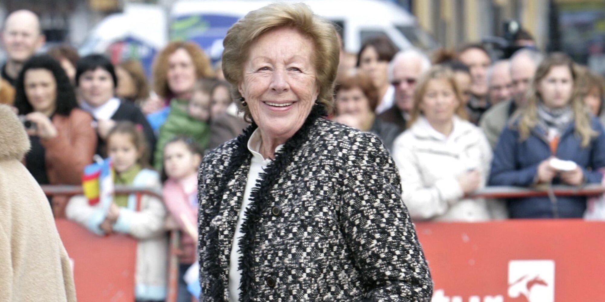 Muere Menchu Álvarez del Valle, abuela de la Reina Letizia, a los 93 años