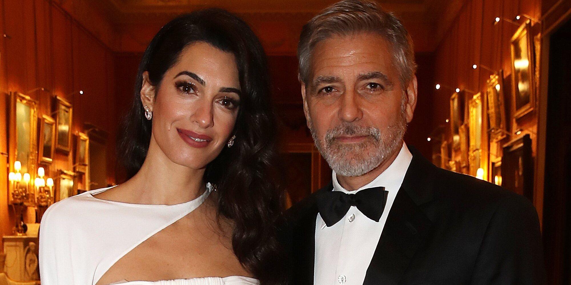 George Clooney y Amal podrían volver a ser padres de gemelos