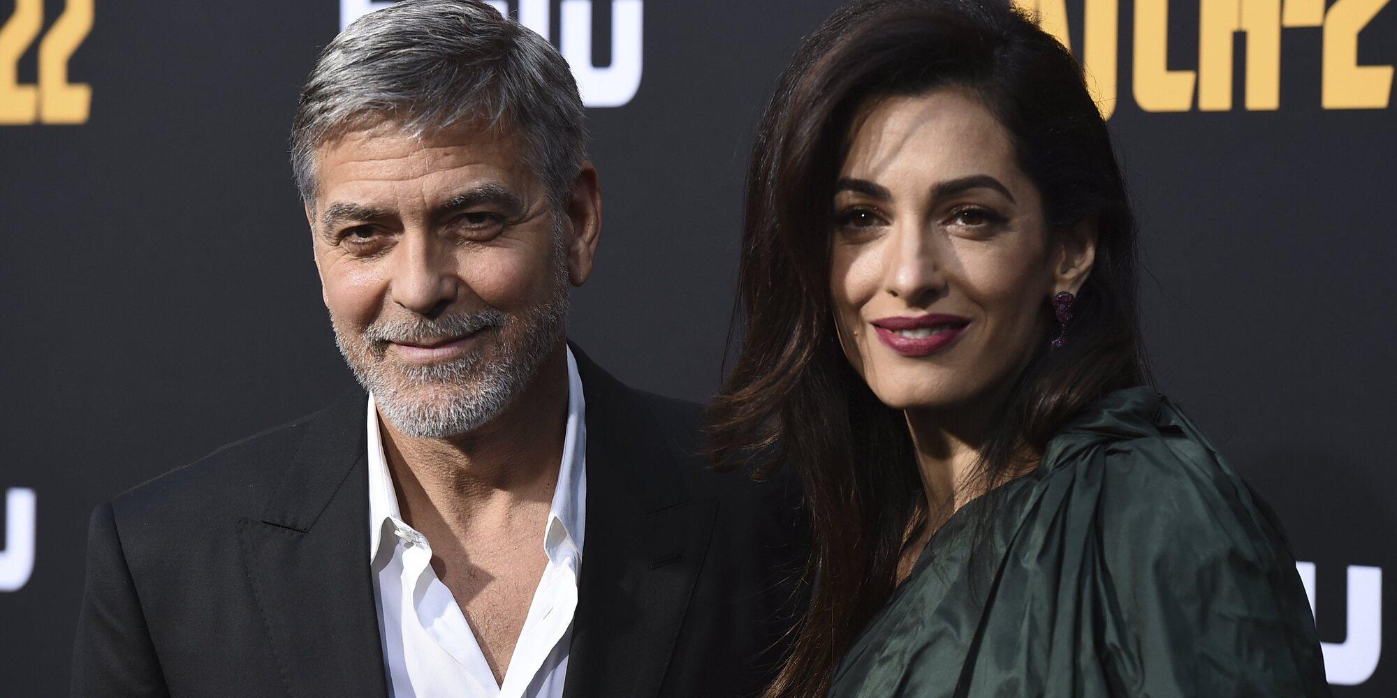 George y Amal Clooney desmienten los rumores de embarazo