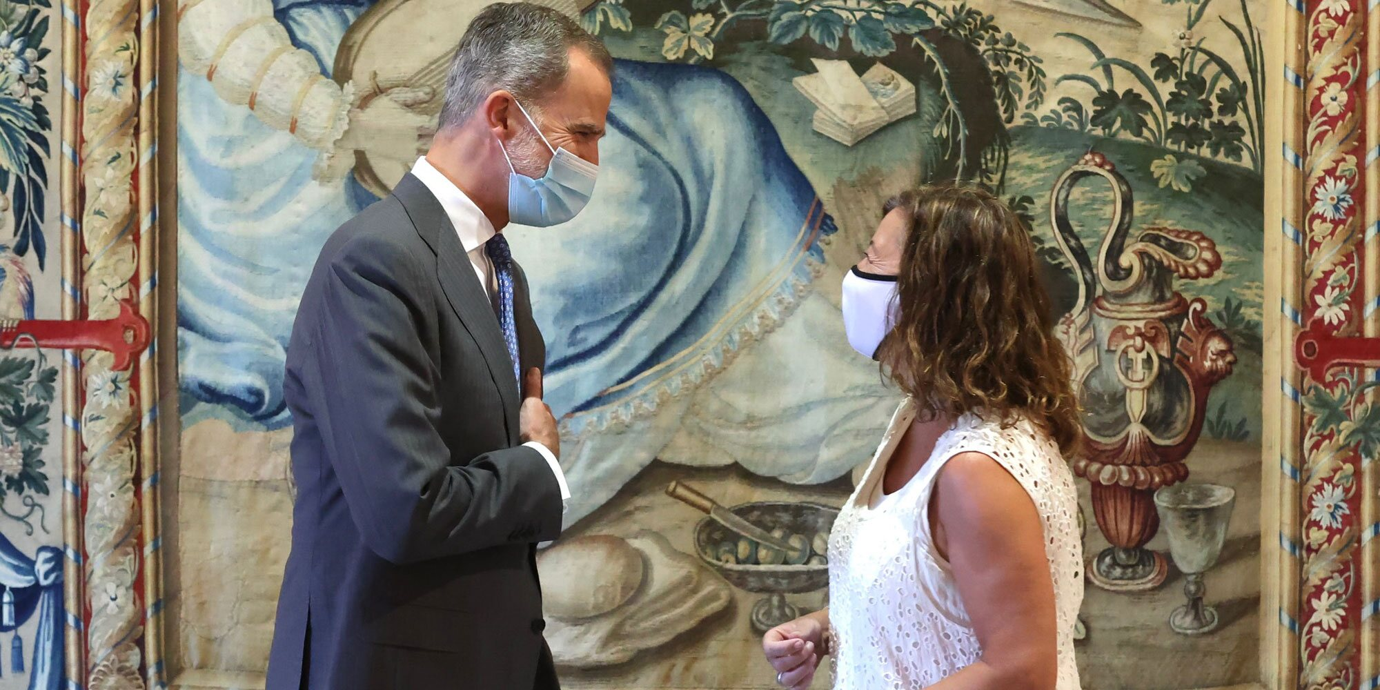 El Rey Felipe, del Aifos a las audiencias a las autoridades de Baleares en Mallorca