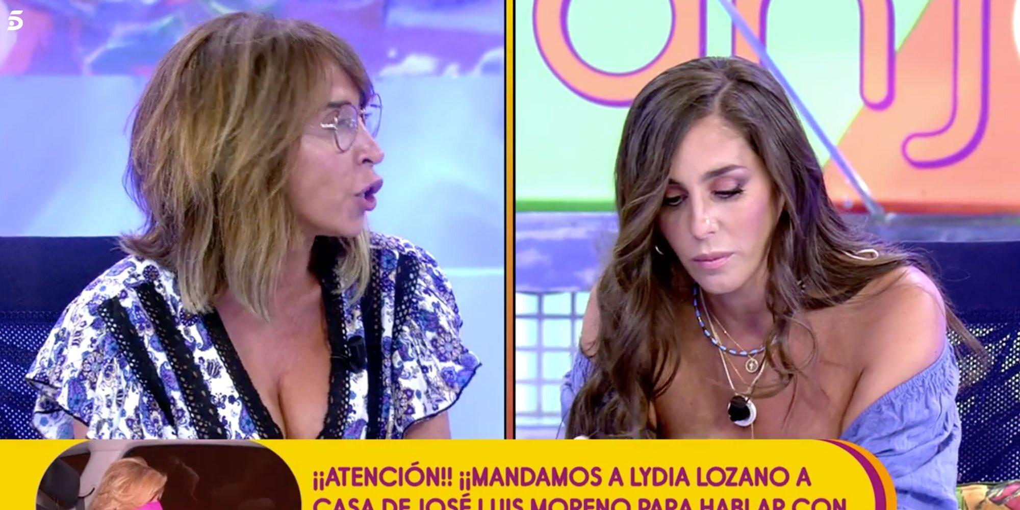 """El zasca de María Patiño a Anabel Pantoja que le provoca el llanto: """"No eres hija de Isabel Pantoja"""""""