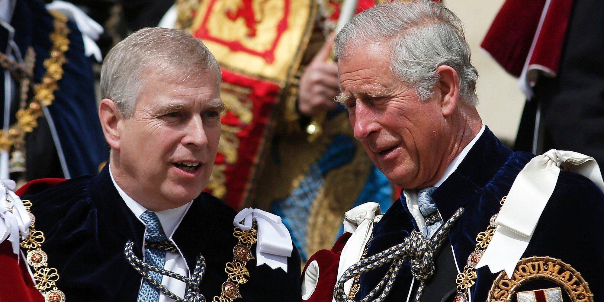 El temor del Príncipe Carlos por el Príncipe Andrés tras la demanda de Virginia Giuffre