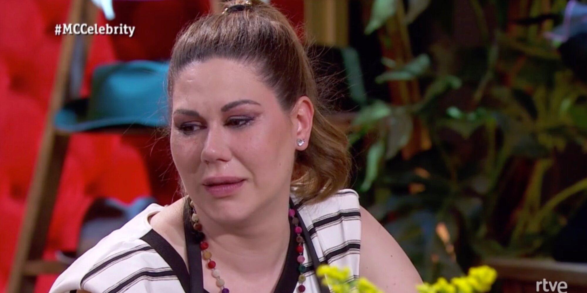 Tamara, primera expulsada de 'Masterchef Celebrity' entre lágrimas por su mala situación económica