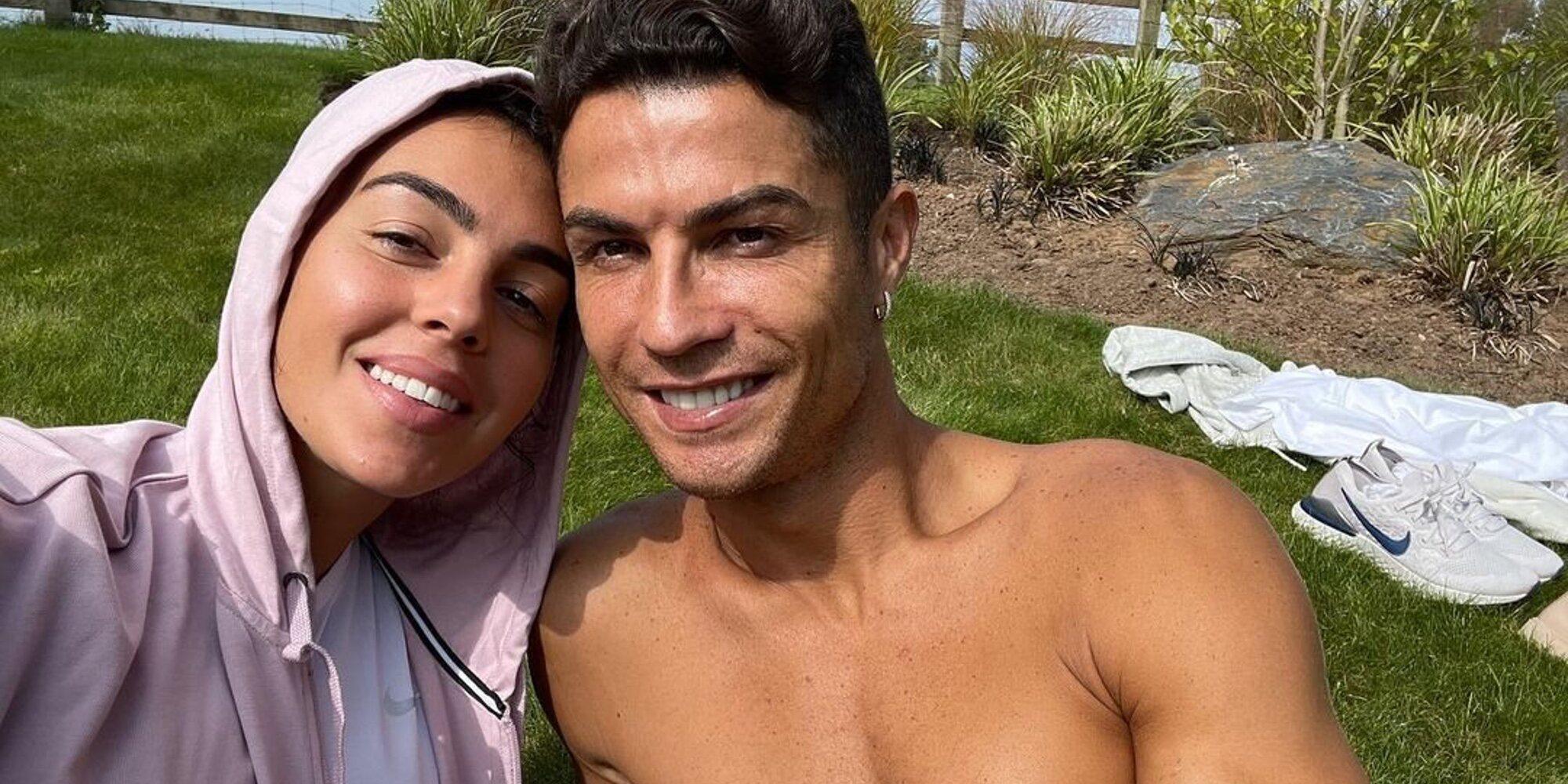 El motivo por el que Cristiano Ronaldo y Georgina Rodríguez se han cambiado de mansión en Manchester
