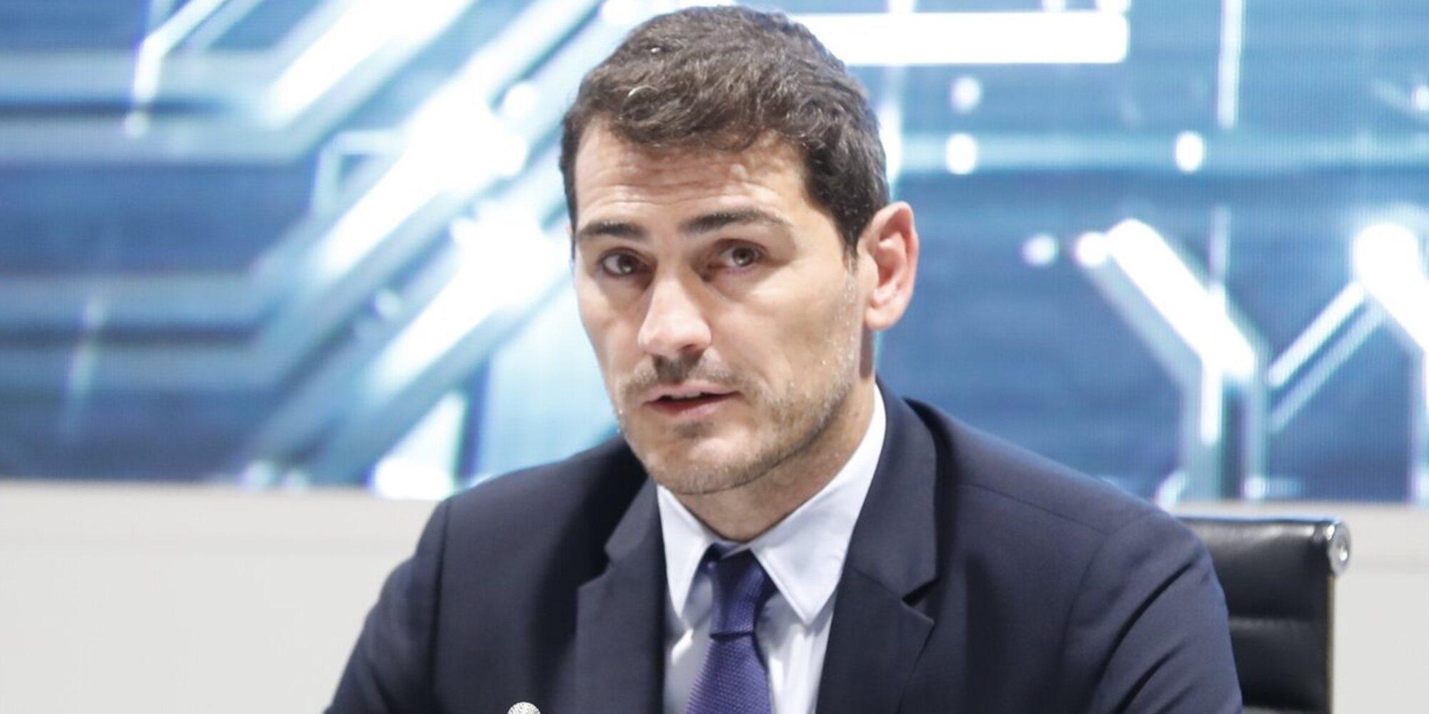 Iker Casillas denuncia en un vídeo el acoso que recibe por parte de la prensa cuando lleva a sus hijos al colegio