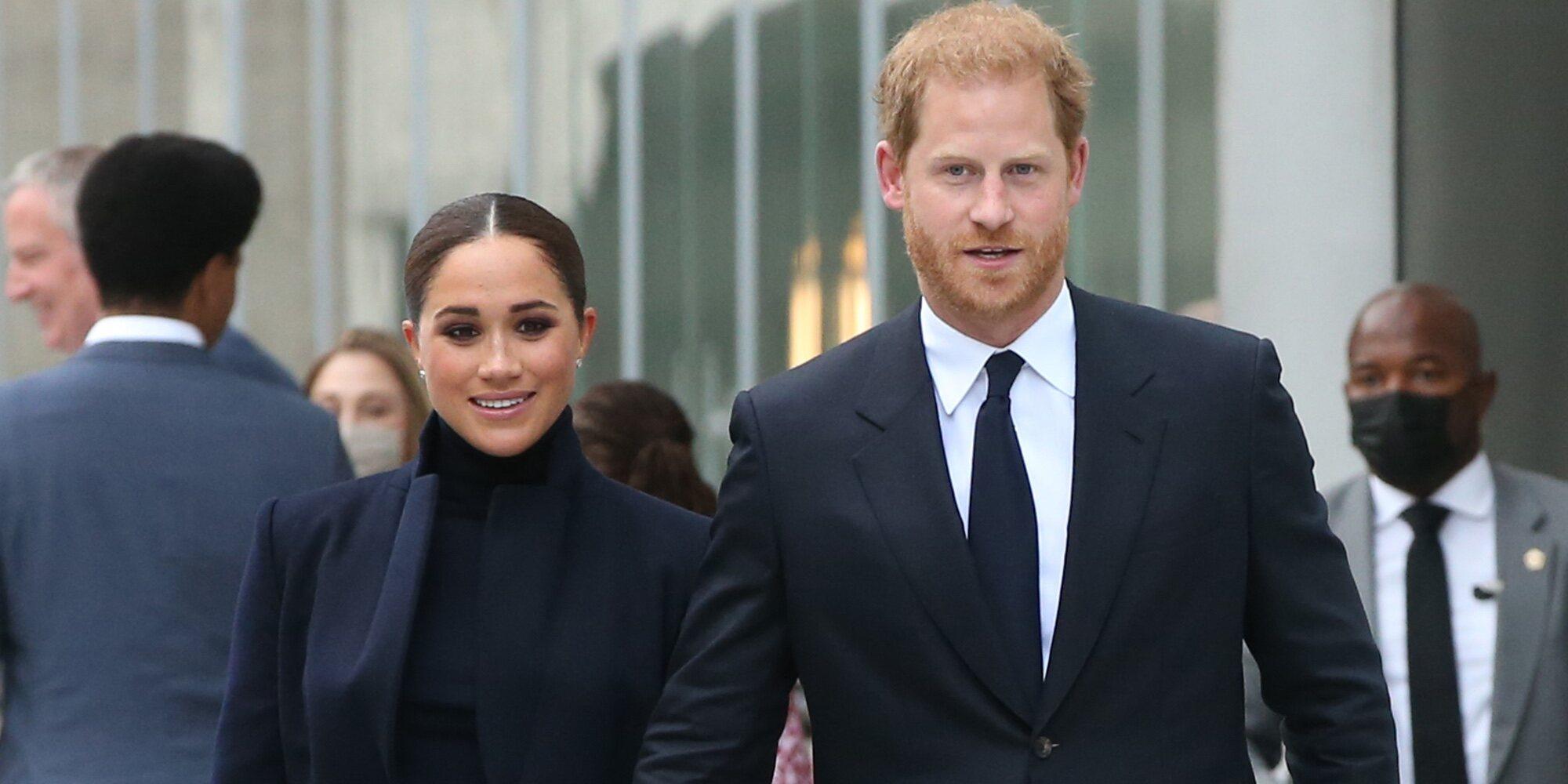 El regreso del Príncipe Harry y Meghan Markle a la vida pública: viaje a Nueva York y muchas ganas