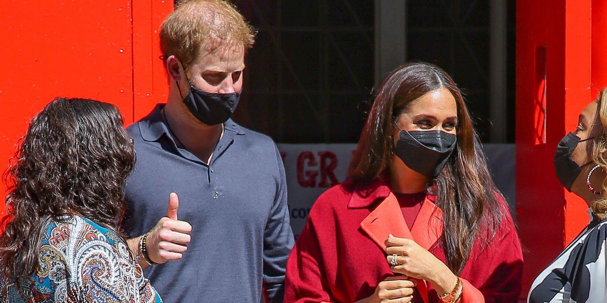 La visita sorpresa del Príncipe Harry y Meghan Markle a un colegio en Nueva York