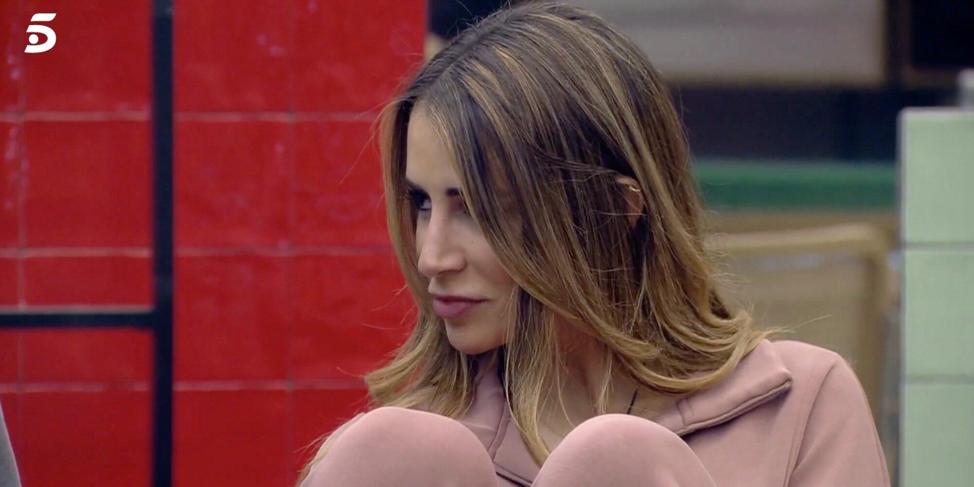 Cristina Porta revela en 'Secret Story' que Canales Rivera le mandó un mensaje en verano cuando aún tenía novia
