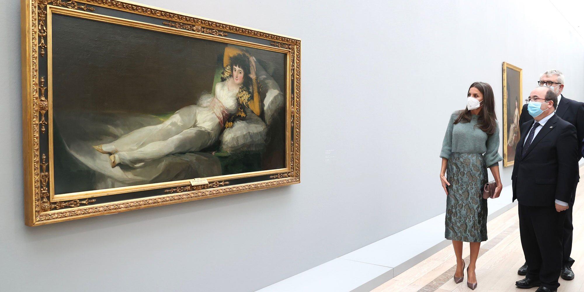 La Reina Letizia inaugura la exposición 'Goya' en Basilea: arte, antepasados y el cuadro favorito de la Duquesa de Alba
