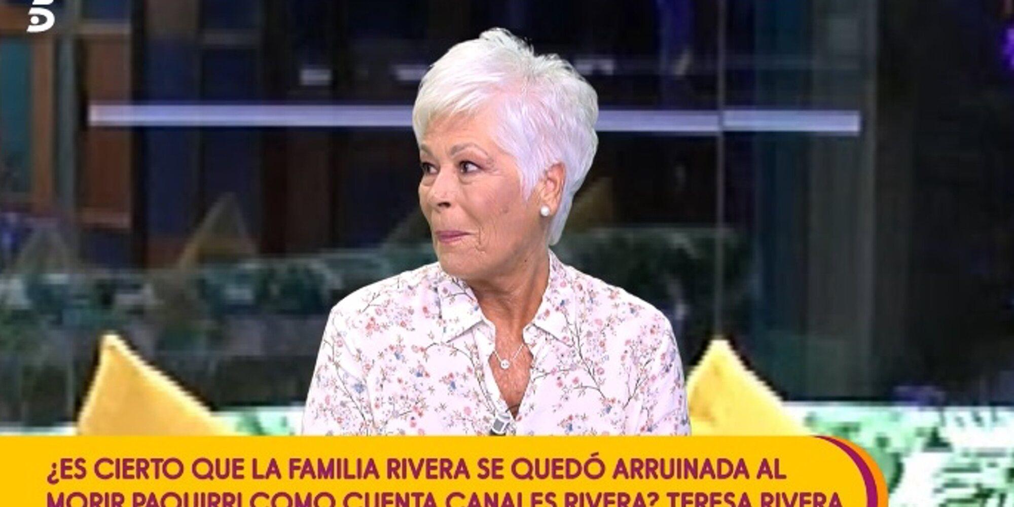 Teresa Rivera destapa que ocurrió algo en Cantora el día del bautizo de Kiko Rivera