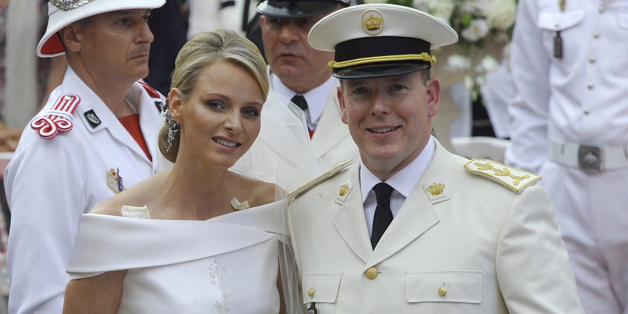 Los 5 años de matrimonio de Alberto y Charlene de Mónaco en 4 escándalos y una doble alegría