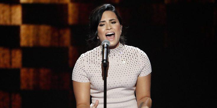 """Demi Lovato en la Convención Nacional Demócrata: """"Estoy conviviendo con una enfermedad mental"""""""