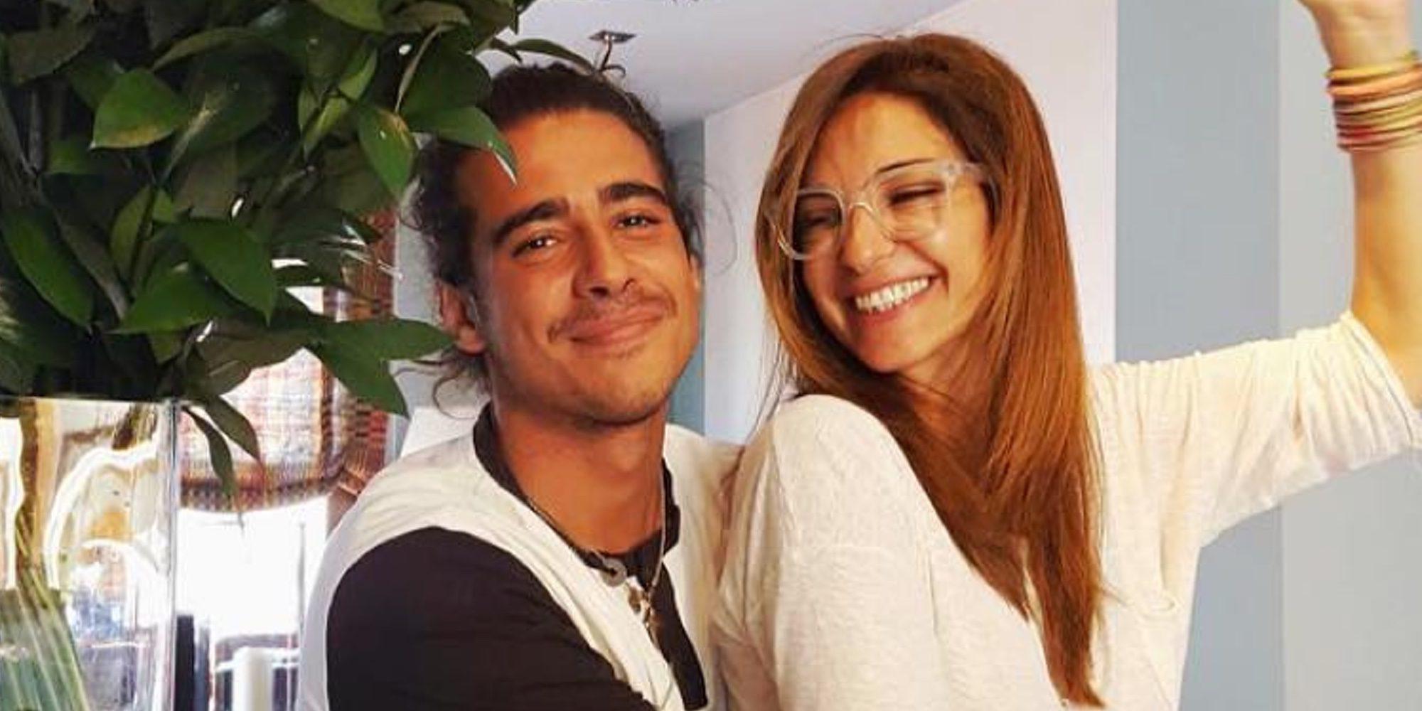 Mariló Montero celebra su 51 cumpleaños con sus hijos Rocío y Alberto y una visita a Telecinco