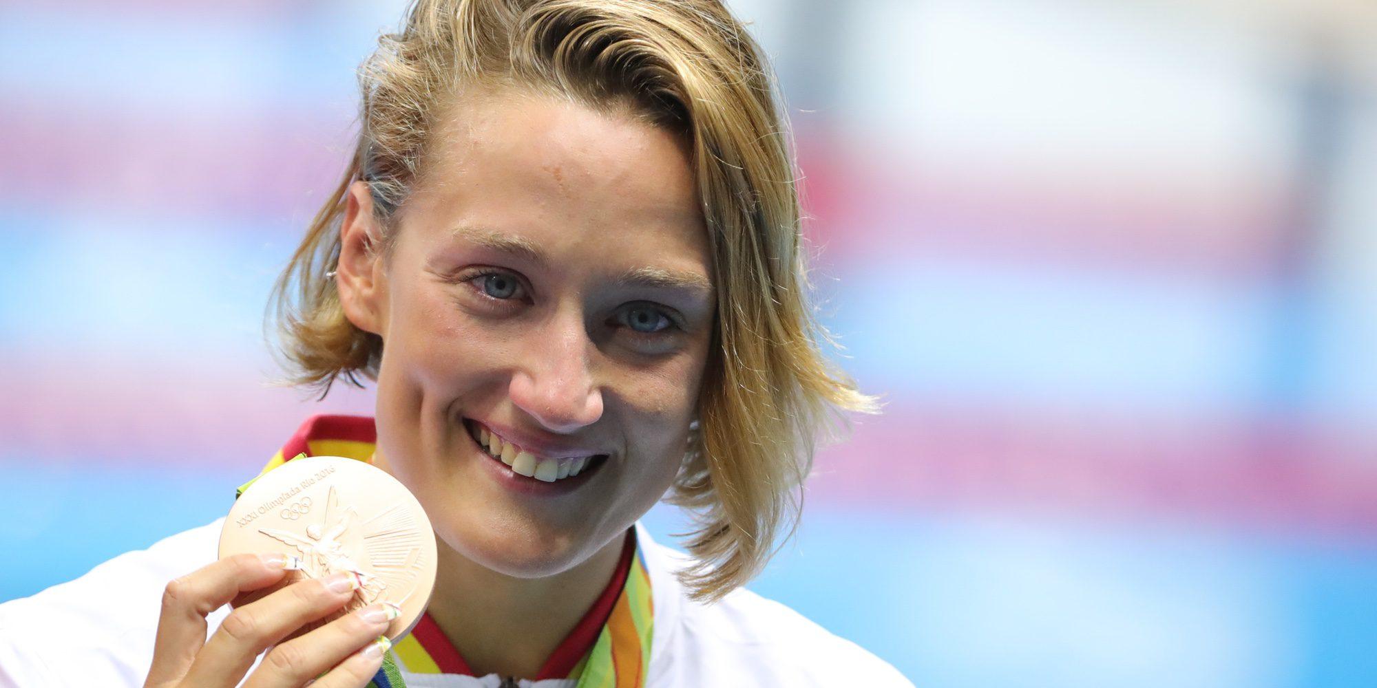 Mireia Belmonte se hace con la primera medalla para España en los Juegos Olímpicos de Río 2016
