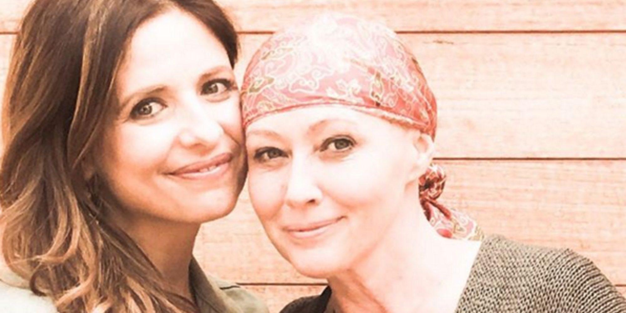 """Sarah Michelle Gellar elogia a Shannen Doherty en su lucha contra el cáncer: """"Eres una verdadera amiga"""""""