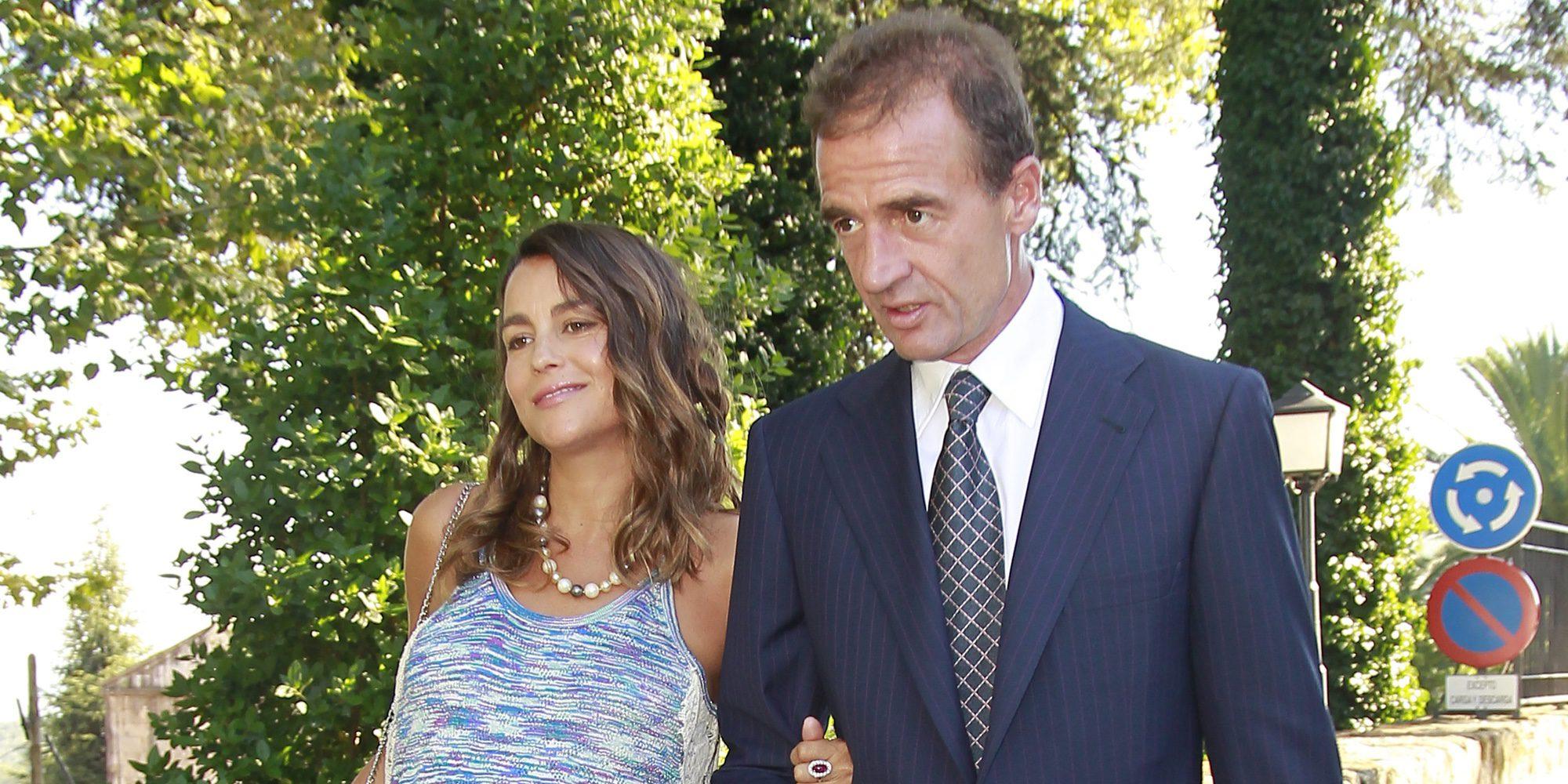 Alessandro Lequio y María Palacios se convierten en padres de una niña llamada Ginevra Ena