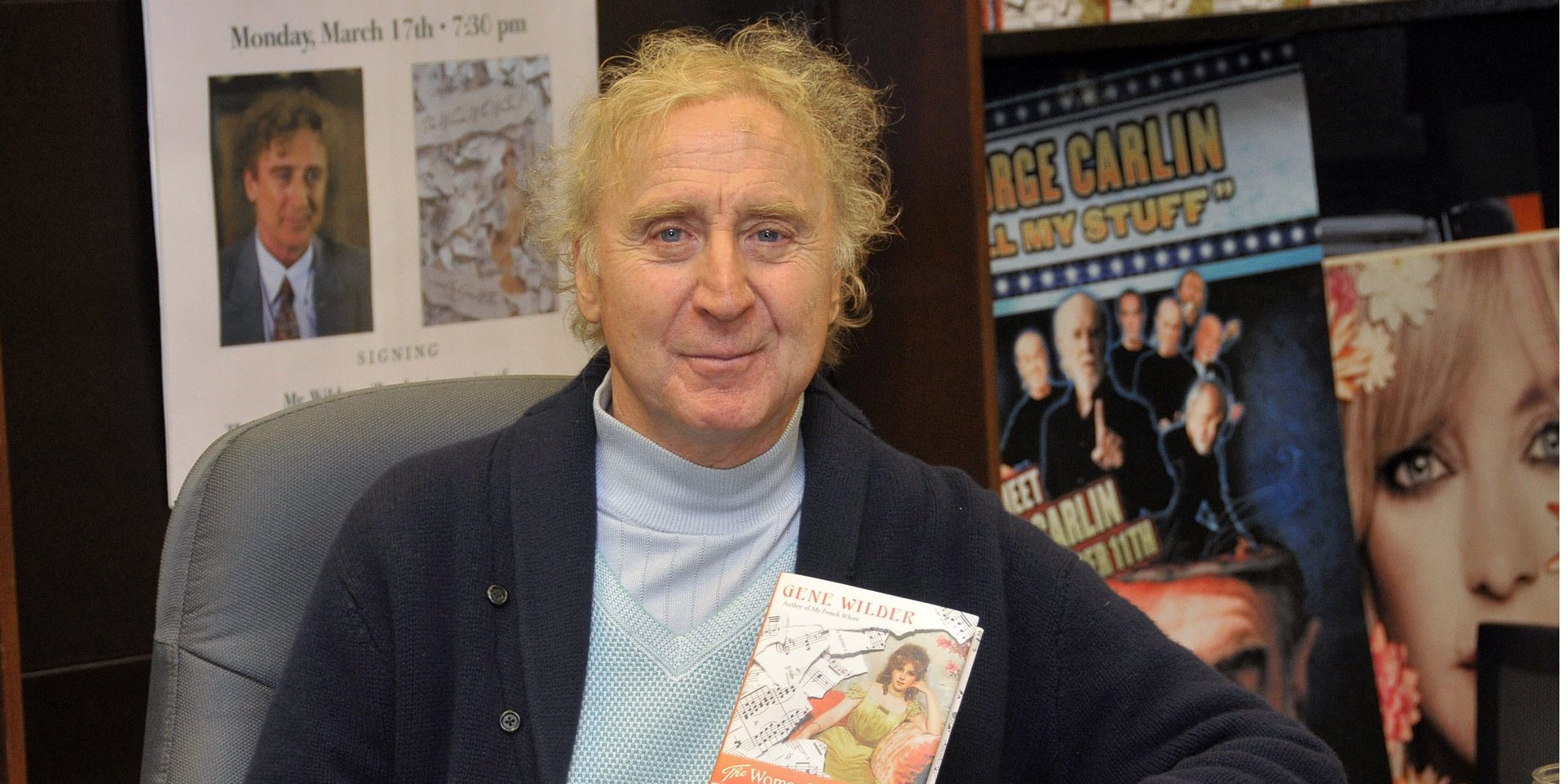 Muere Gene Wilder, actor que interpretó a Willy Wonka, a los 83 años