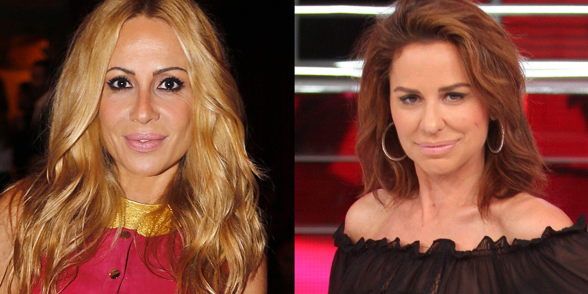 """Vicky Larraz cuelga una foto posando con Marta Sánchez: """"Para que luego digan que nos llevamos mal"""""""