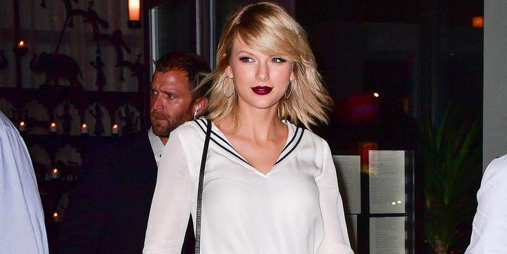 Taylor Swift canta una canción de su ex Calvin Harris en el desfile de su amiga Gigi Hadid