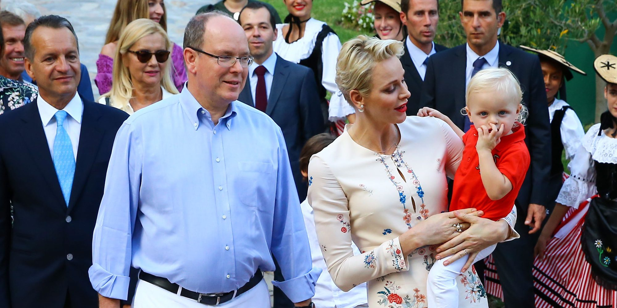 El Príncipe Jacques de Mónaco acapara todas las miradas en el tradicional picnic de Mónaco