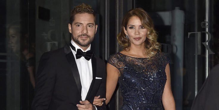 David Bisbal y Rosanna Zanetti derrochan amor sobre la alfombra roja del Teatro Real