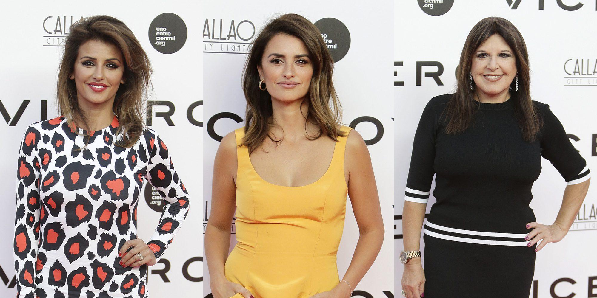 Mónica Cruz, Loles León y Elena Anaya arropan a Penélope Cruz con su proyecto más personal