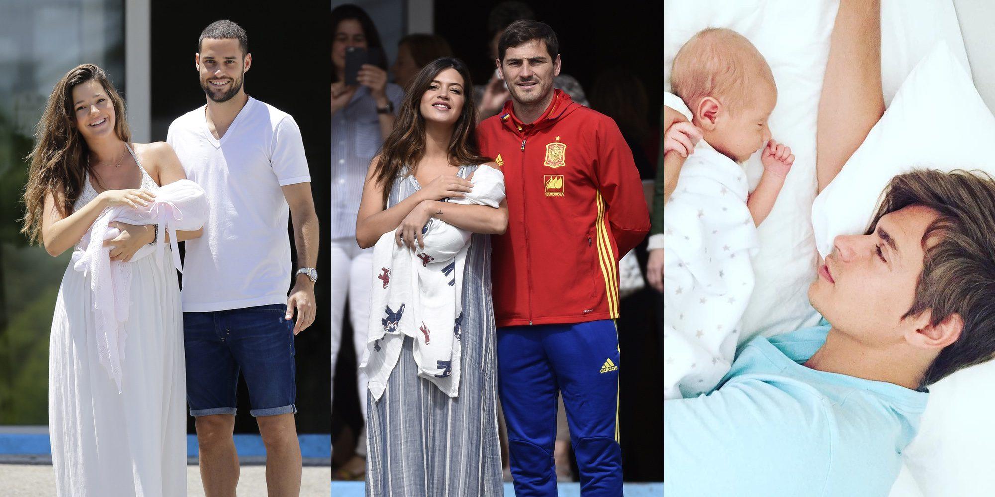Lucas Casillas, Matilda Suárez, Markuss Baute, Ginevra Lequio... los bebés del verano 2016