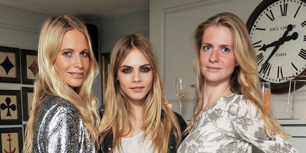 Las hermanas delevingne tres j venes marcadas por el for Inmobiliaria 2 hermanas